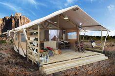 Country Lodgetent - Camping Norcenni Girasole Club
