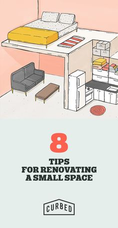 Great advice for renovating and organizing a tiny home.