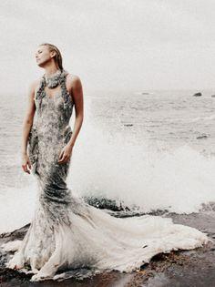 Charlize Theron by Annie Leibovitz,