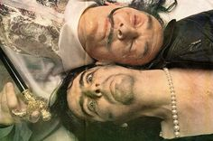 Salvador Dali & Alice Cooper by Annie Leibovitz, Rolling Stone (1973)