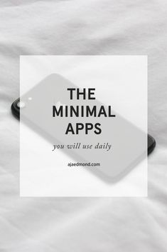 These are the 31 minimalist apps that increase productivity. Read this Minimalist Living post and take the Minimalism Challenge.