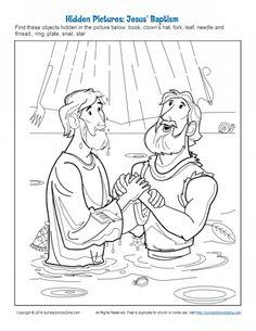 Jesus' Baptism Archives