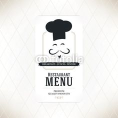 Vektor: Restaurant menu design