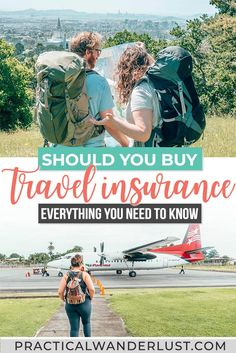 This massive travel insurance guide is for anyone wondering if travel insurance is worth it, plus the best travel insurance policies and how it all works. Travel Advice, Travel Guides, Travel Tips, Travelling Tips, Travel Stuff, Travel Hacks, Travel Destinations, Travel Couple, Family Travel