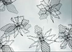 Chickenwire Wire sculpture by artist William Ashley-Norman titled: 'Ants (Big Wire Insect Garden sculptures)' £134 #sculpture #art