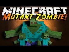 Minecraft Mod Showcase : MUTANT ZOMBIES! - YouTube