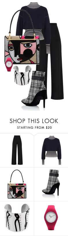 """""""..."""" by enchanticals ❤ liked on Polyvore featuring Loewe, Prada and Off-White"""