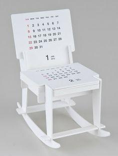 [BB-Blog]: Rocking Chair Sculpture Calendar.