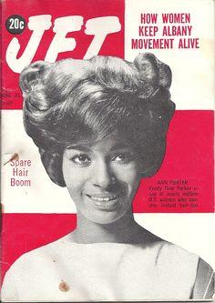 AUG 30 1962 JET MAGAZINE VOL.22 #19 (Ann Porter) Jet Magazine, History Facts, Hair Dos, Atlanta, Pretty, Ann, Movie Posters, Up Dos, Hair Makeup