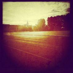 Poranne bieganie (stadion PWSZ, ul. Popiełuszki)