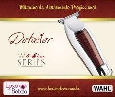 Wahl Detailer - Máquina de acabamento profissional # Página: http://luxoebeleza.com.br/wahl-detailer-maquina-de-acabamento-bivolt.html