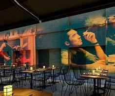 China Lane, Sydney // Designed by Loop Creative #restaurant #cinema