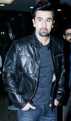 Ranbir Kapoor arrives for 'Roy' press conference in Delhi. #Bollywood #Fashion #Style #Handsome