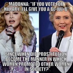 I didn't vote for Hillary or Donald. This election was such a joke. Neither one of them are for women.