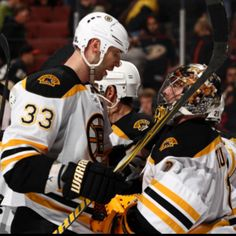 "Chara.. Bruins guys. This guy is so big he has to have special permission to have his hockey stick sized properly for him bcuz it's too big for ""regulation"". He's always been a player I've admired."