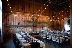 rustic receptions - photo by Joseph and Jaime Photography http://ruffledblog.com/vintage-inspired-ontario-wedding