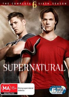 Supernatural - Season 6 Drama, DVD | Sanity