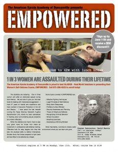 Women's Self-Defense Course - June 16th in Duncanville, TX