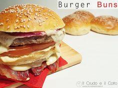 Burger Buns | Il Crudo e Il Cotto