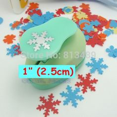 "£4.81, cheapest 1"" snowflake punch i can find on aliEx.........scrapbooking 1''(25mm) snowflakes punch paper cutter for crafts and scrapbooking furador cortador de papel embossing machine-in Hole Punch from Office & School Supplies on Aliexpress.com 