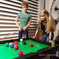 Friday night is a date night!  #friday #date #billards #barbieworld #barbiestyle #barbie #barbiegirl #barbiedoll #bestbarbiephotos #myfroggystuff #myfroggystufffanpics #dollphotogallery #boyswithdolls #bellabarbiedoll #fashionistas #madetomove #dollstagram #dollgram #barbieinstagram #barbieinsta #barbieofinstagram #barbiegram #barbielover #barbielove #wewithdolls #justdollfurnituret #hobby