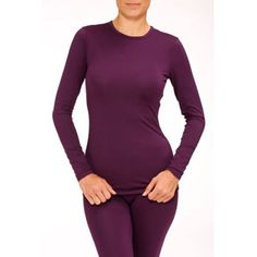 6c62a183b72df Free Shipping on orders over  35. Buy Stretch Microfiber Warm Underwear Top  at Walmart.