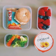 Snacks #yogurt #veggies #fruit
