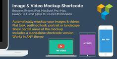 Image & Video Device Mockups Shortcode