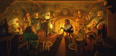 AN UNEXPECTED PARTY BY GREG AND TIM HILDEBRANDT