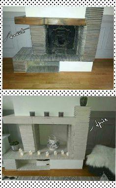 tutoriel peindre et relooker une poutre de chemin e salon pinterest comment. Black Bedroom Furniture Sets. Home Design Ideas