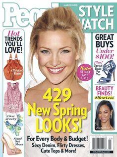 A subscription to People StyleWatch - Ginny