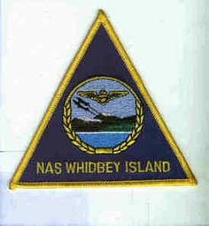 NAS NAVAL AIR STATION WHIDBEY ISLAND NAVY BASE SQUADRON PATCH