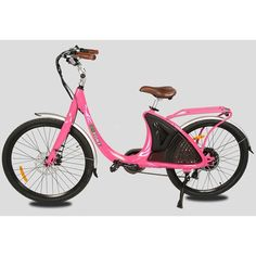 """E-Go Lark 48V Step-Through Electric City Bike Have Fun and Ride Effortlessly The E-Go Bike USA Lark 26"""" 48V10AH 500W Electric City Bike comes with a powerful Samsung lithium ion battery. You can reach speeds up to 24 mph on this e-bike. Fall In Love With A Bicycle All Over Again Front and dear disk brakes ensure safety for your bike, and the front and rear fenders are a welcome safety addition. You can ride for hours on this environmentally friendly way to commute. The Techy Stuff: - 500W rear h E Biker, Solar Battery, Electric Bicycle, Motorcycle, City, Fun, Safety, Samsung, Solar Panels"""
