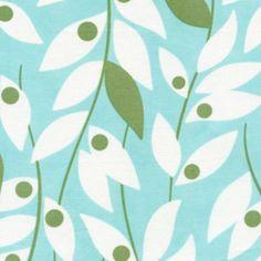 Bean skirt. Lindy Leaf in Blue #fabric