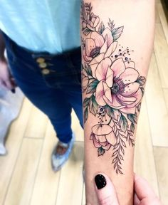 Arm Floral Tattoo Designs for Women 2019 - Page 19 of 50 - Flower Tattoo Designs 50 Arm Floral Tattoo Designs for Women 2019 - Page 19 of 50 - Flower Tattoo Designs Arm Floral Tattoo Designs for Women 2019 - Page 19 of 50 - Flower Tattoo Designs - Pretty Tattoos, Beautiful Tattoos, Compass Tattoo, Piercing Tattoo, Piercings, Geniale Tattoos, Inspiration Tattoos, Skin Art, Body Art Tattoos