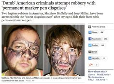 dumb criminals 2014 | 21 Of The Dumbest Criminals Of All Time - Gallery