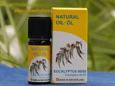 Vivasan Eukalyptusöl ist wirksam bei Erkältungen und Husten. Es ist antiseptisch und hat ein frisches, harziges Aroma, welches beim einatmen, im Fall von Erkältungskrankheiten, sofortige Erleichter