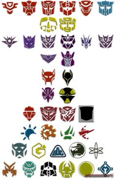 Transformers: All Factions by Gauntlet101010.deviantart.com on @DeviantArt