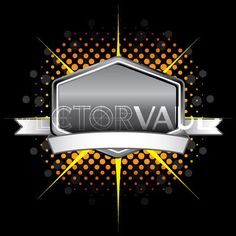 Vector Ribbon Emblem Logo