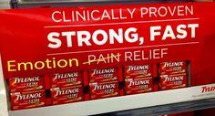 Tylenol Kills Emotions As Well As Pain