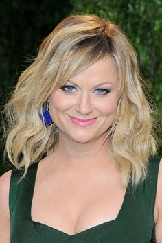 Amy Poehler with shoulder-length hair - Pascal Le Segretain for Getty