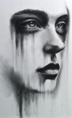 Charcoal drawing by Kate Zambrano.