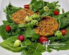 Tortitas De Quinoa Y Vegetales Vegan & Gluten Free