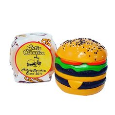 This new, double cheeseburger burger squishy by Cutie Creative is so squishy, so slow-rising, and comes in super cute, super realistic packaging. Squishies, Decoden, Hamburger, Kawaii, Creative, Party, Cute, Parties, Burgers