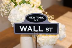 New York street sign table names