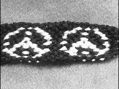 ► Friendship Bracelet Tutorial 2 - Advanced - The Hippie Peace Sign