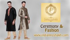Ceremony + Fashion = Indian Poshakh Ceremonial fashion wear with classy design & color combo. ‪#‎fashion‬ ‪#‎classy‬ ‪#‎color‬