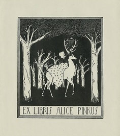 Pratt Library's Ex Libris Collection book plates.
