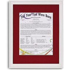 Personalized The Year You Were Born Trivia Framed Print - Personal Creations Gifts 90th Birthday Gifts, Special Birthday Gifts, Birthday Gifts For Teens, Birthday Ideas, 80 Birthday, Birthday Message, Birthday Celebration, Gifts For Dad, Gifts For Friends
