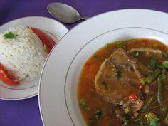 lengua en salsa - Cocina costarricense